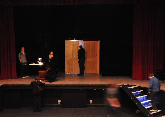 Richard Carr, Black Box, Sound Installation 4, Gorey Theatre, 2008.JPG