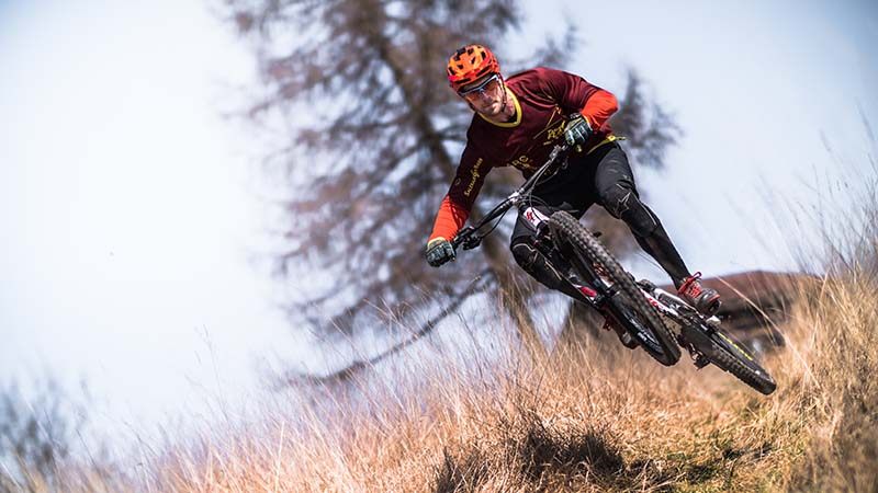 Mountain biking is popular in Colorado, and participants are best off wearing athletic mouthguards to protect against injuries.
