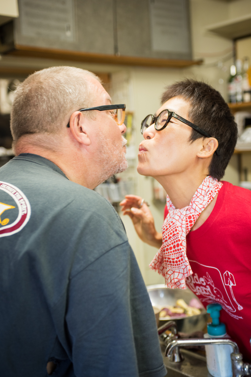 Darren Damonte and his wife Miwa