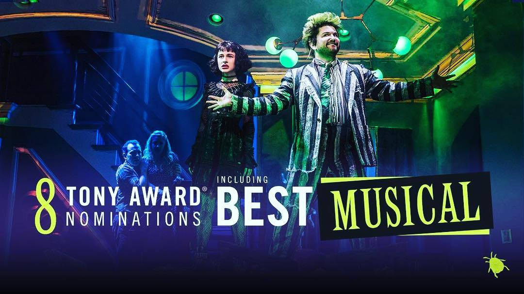 4/30/19 - Congratulations to all of the Tony nominees! What an exciting morning to be a part of team Beetlejuice!