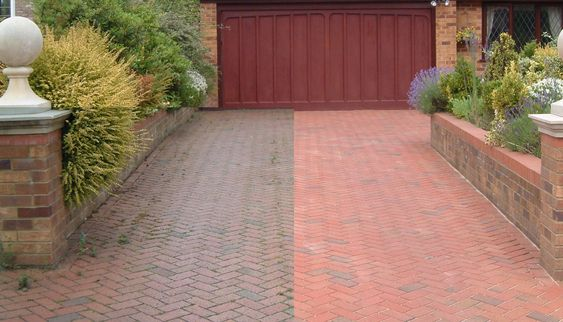Pressure Washing - Nothing is worse looking than a house with dirty or grimy concrete. Bring back the color of your sidewalk/driveway by getting a deep clean done.
