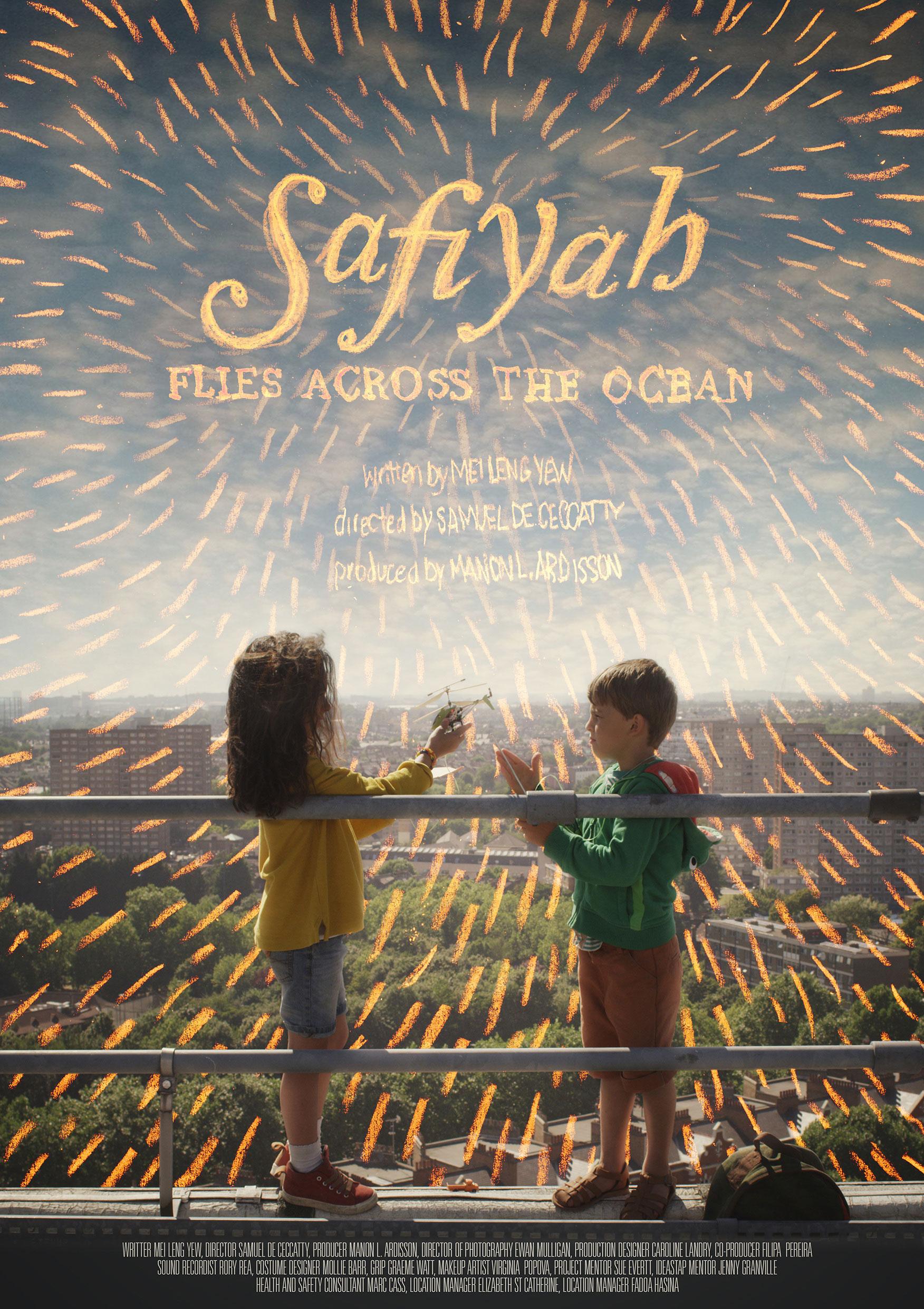 Safiyah Flies Across the Ocean