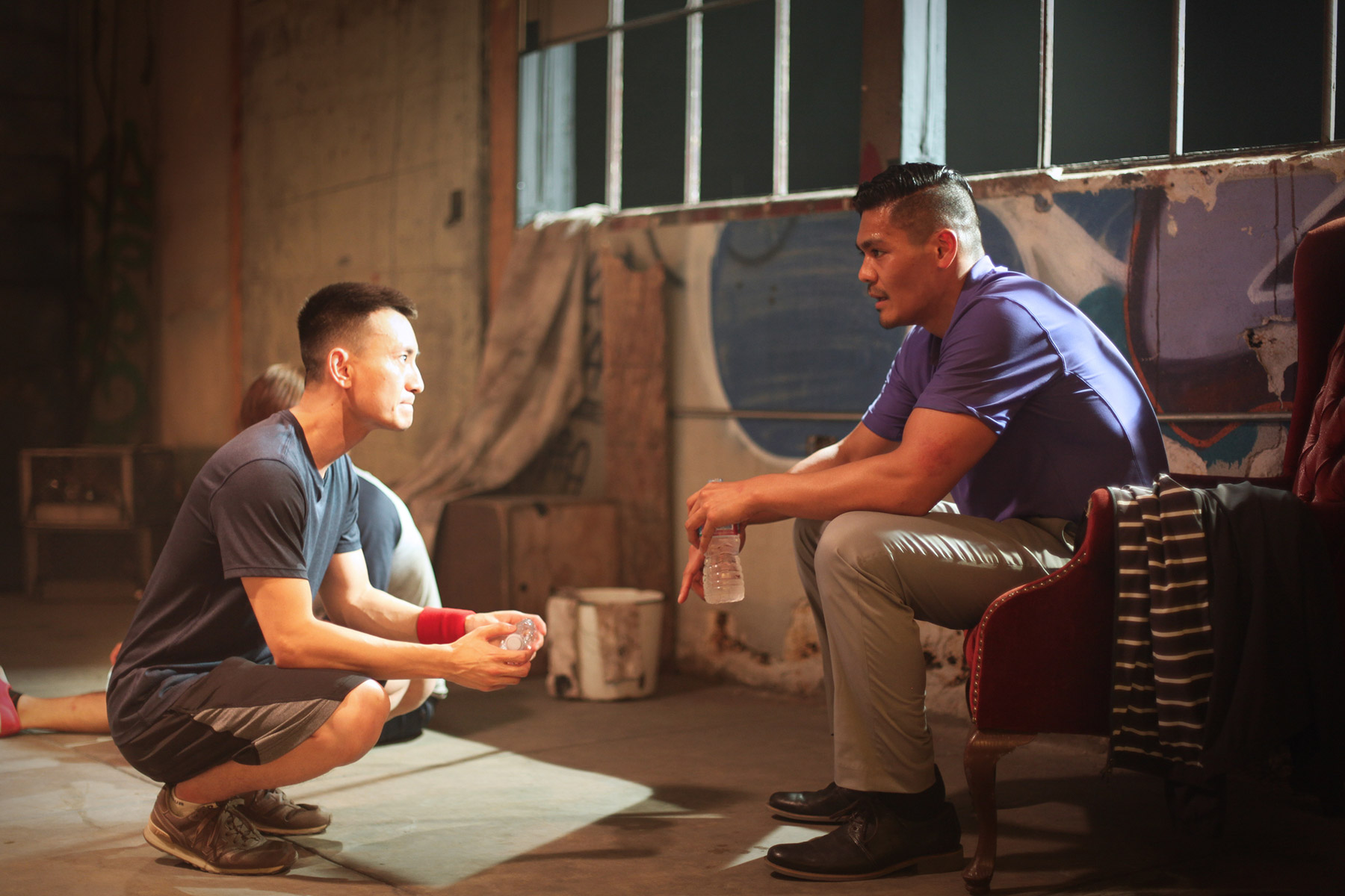 Director Tran Quoc Bao and Action Director/Actor Ken Quitugua