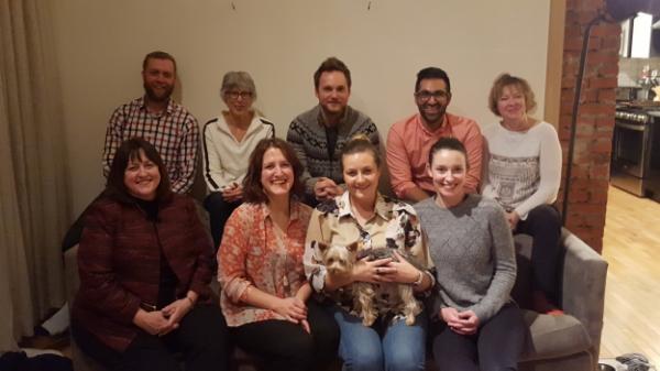 Calgary Can Board 2016:Top Left to Right (Seth Leon, Nancy Hansen, Chris Lake, Aman Adatia, Nancy Dalton); Bottom Left to Right (Pat Letizia, Kate Letizia, Kaitlyn Hill, Natalie Andrijancic)