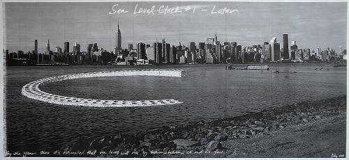 rendering for  Sea Level Clocks