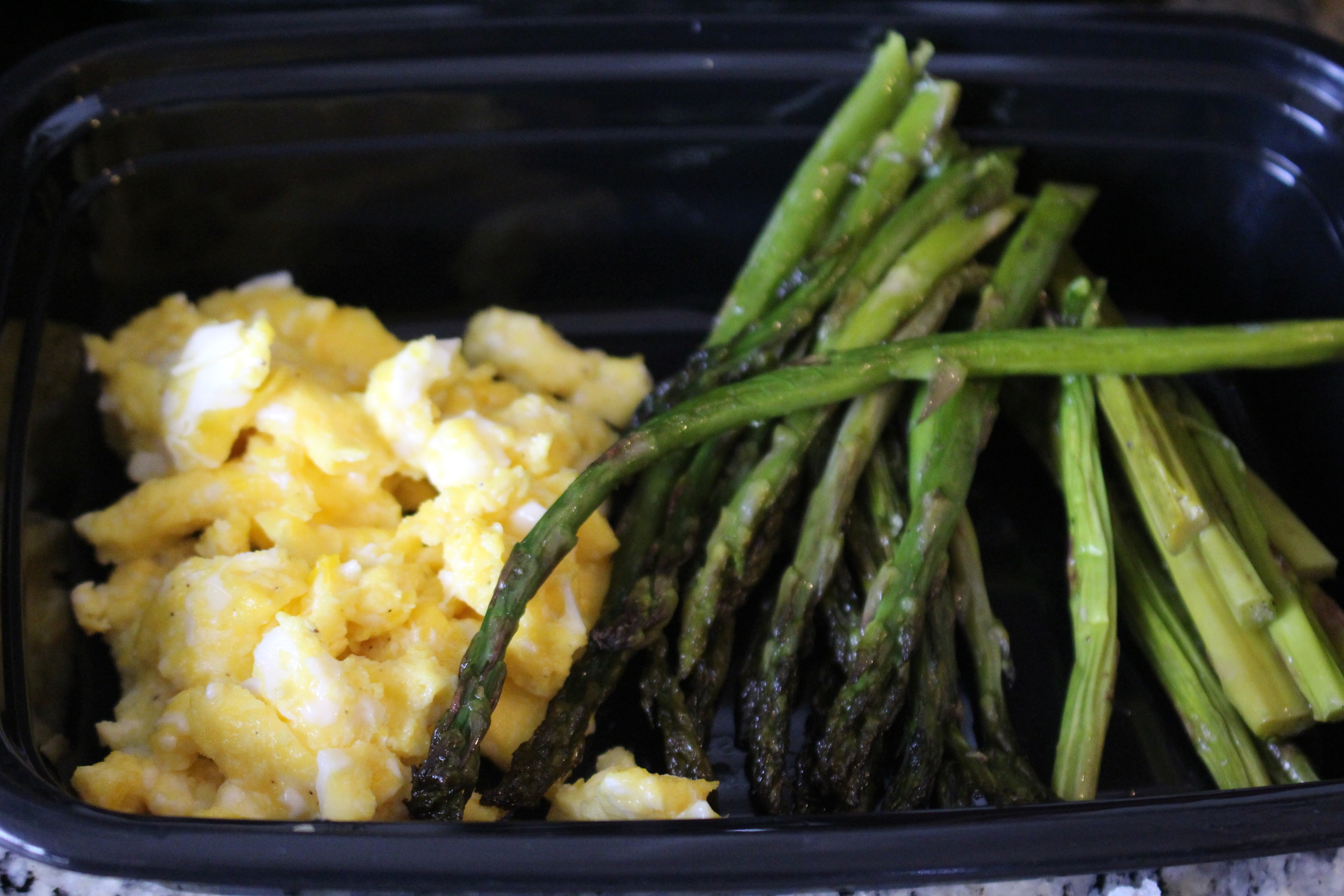 Breakfast: Eggs and Asparagus!