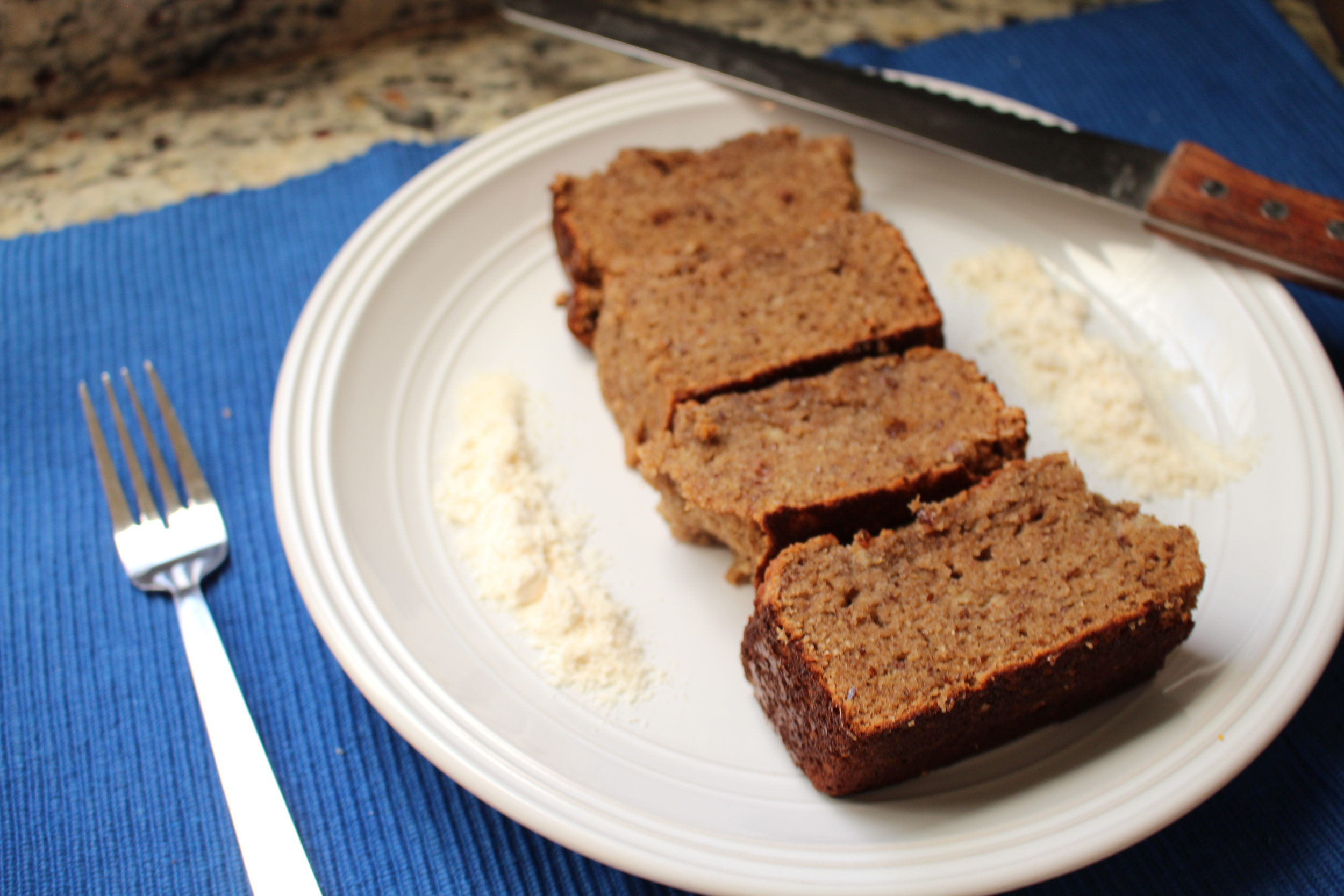 I had a few questions about this Banana Bread Recipe I made the other day! Here it is!