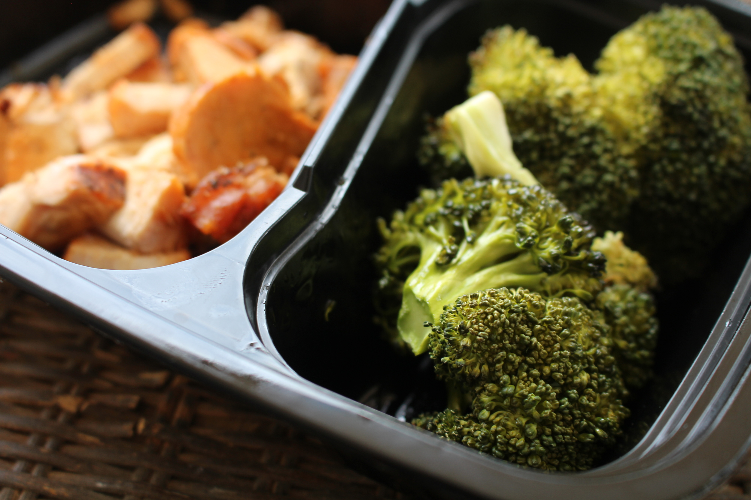 Lunch: Chicken and broccoli