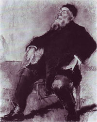 Auguste Rodin, by Tonks (Tate Gallery, London)