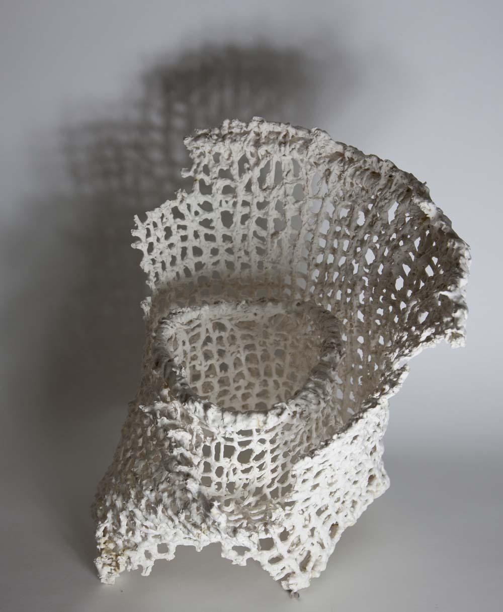 As for Living III, 2015. Stoneware. 30cm x 15cm x 45 cm