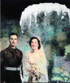 She married a soldier just before the bomb dropped, Panel 4, 21 cm (w) x 29 cm (h)