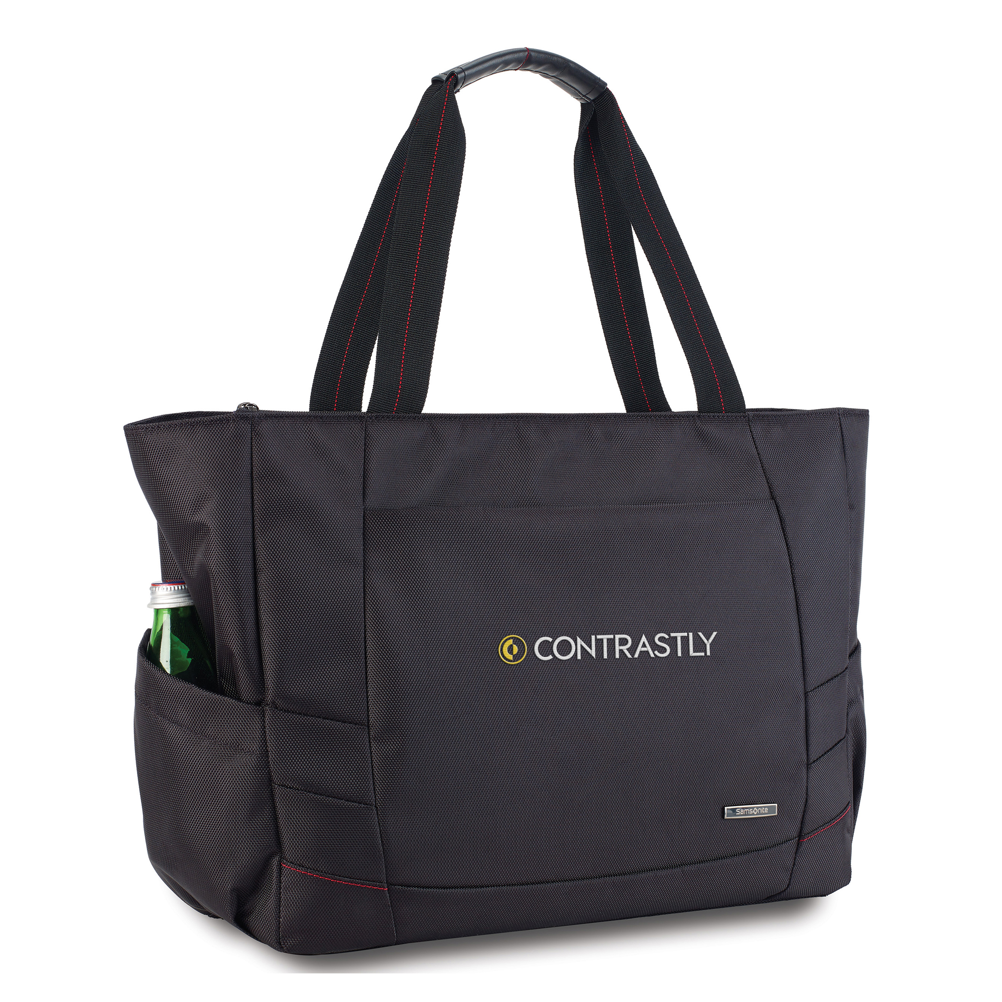 This tote was designed to fit into the exsisting Xenon collection.