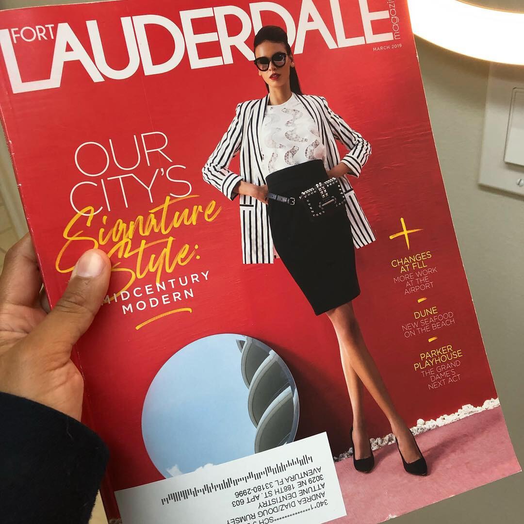 Fort Lauderdale Magazine  -