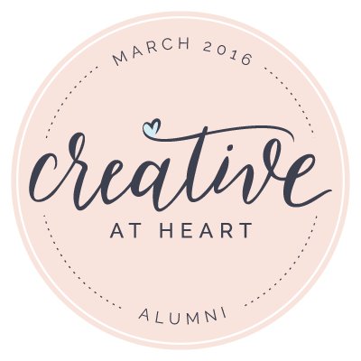 Creative At Heart Alumni Badge