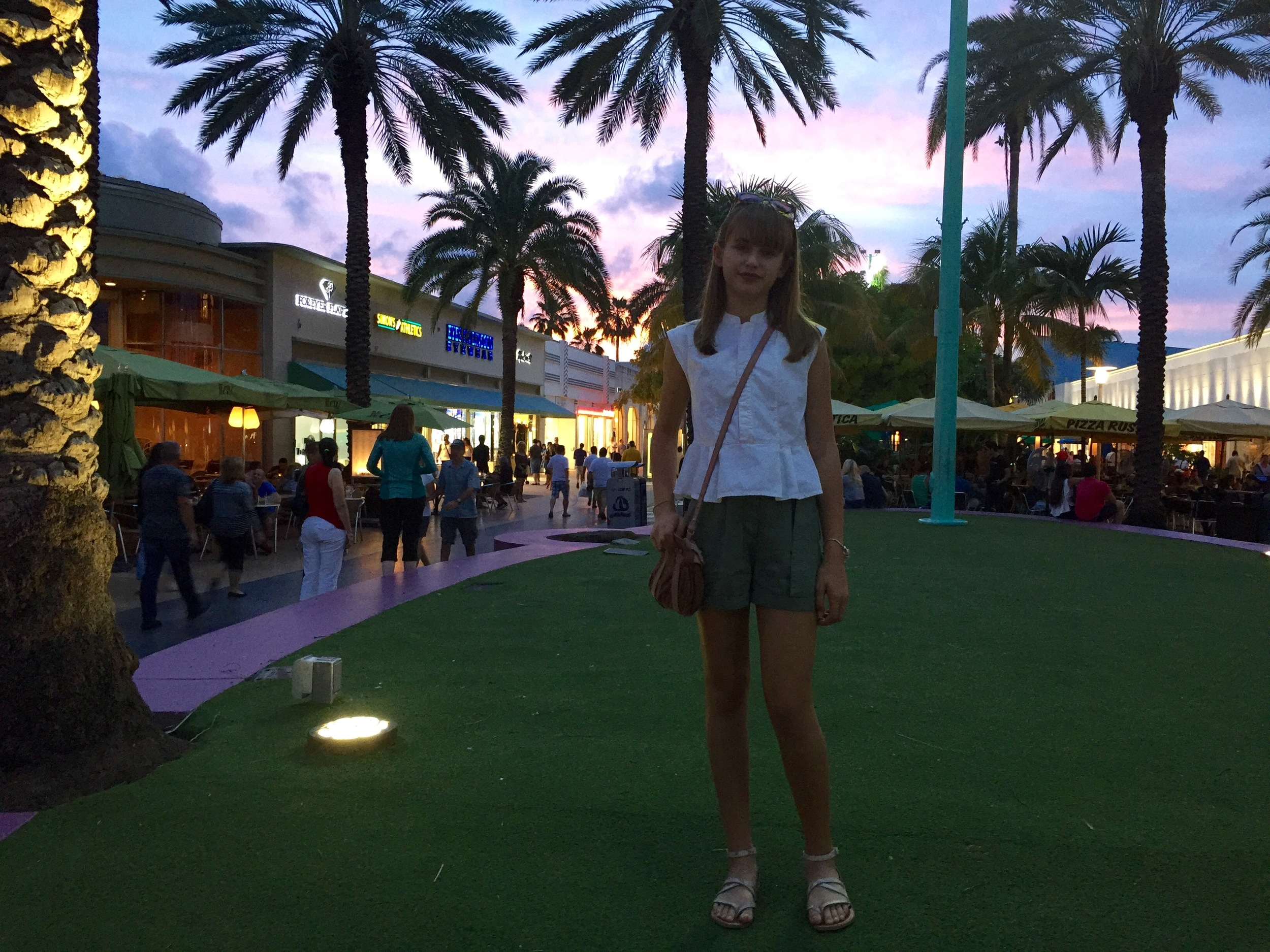 shirt from  Madewell  and shorts from   Topshop Petite