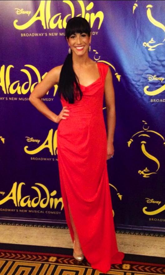 Aladdin Opening Night