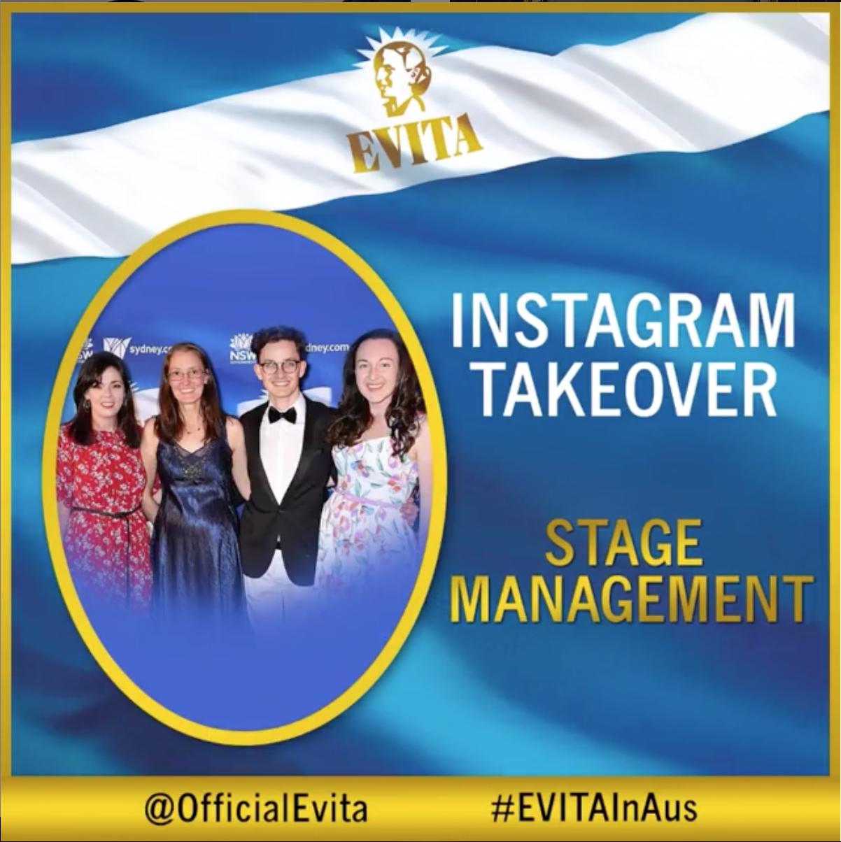Evita Instagram Takeover -