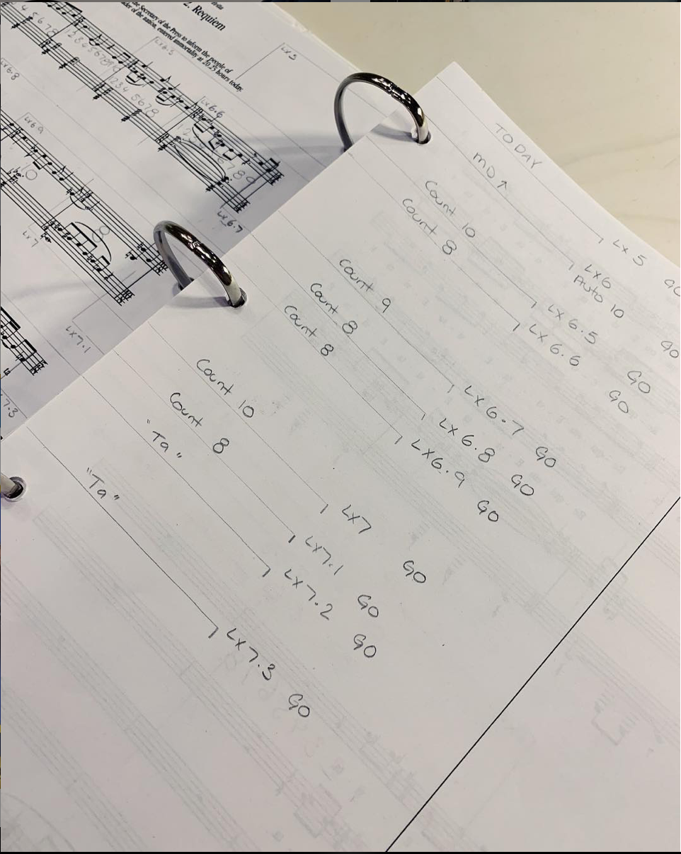 - Here's the opening sequence of the show taken from the Prompt Copy!Right from the first cue you must stay extremely focused because the show is in your hands. Can you guess how many cues there are in the show? (📸@joshuabroadbent) #EvitaInAus