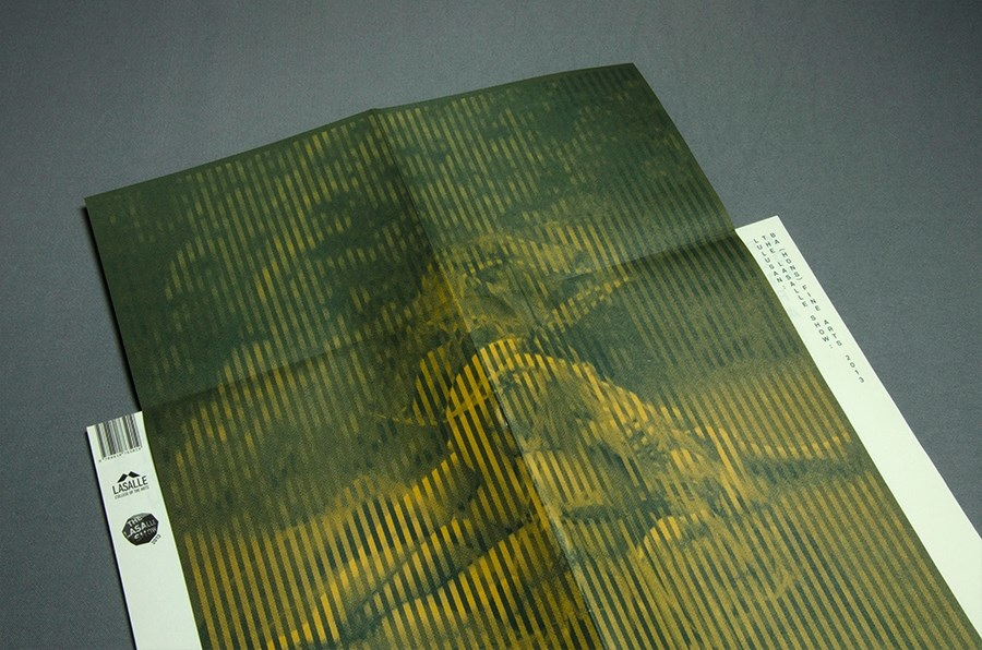 Lasalle-Goldsmiths Fine Arts Catalogue 2013   design by studioKALEIDO/ photograph by me