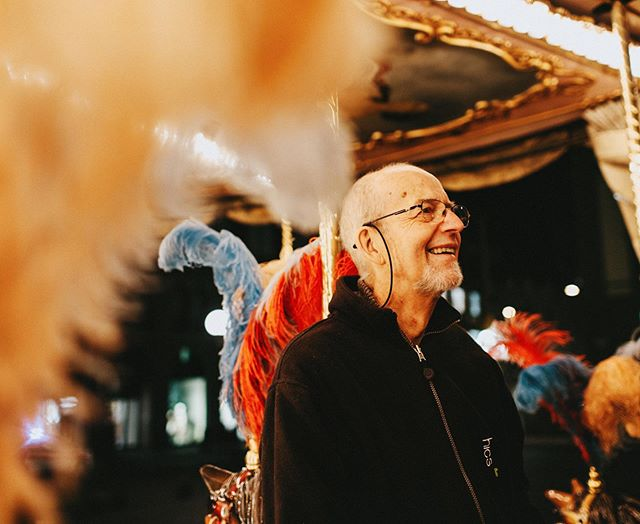 Thank you to everyone who came out to celebrate Dad's life this past weekend. I'm glad we could share a glimpse of his vibrancy with you. Here he is riding a carousel horse backwards with stage IV cancer. He really was magic 🖤  Having lost 3 of my immediate family members in the past 5 years I can speak a few truths:  Death makes people uncomfortable. No matter how much experience you have, it will feel different every time you loose someone you love. You can't predict how you'll react. People will make it weird. Sometimes it's because they're afraid that if they look directly at death it will touch them next. Usually though, they  just want so badly to fix things that are unfixable. We aren't trained how to sit with grief and we don't have language for living with the bereaved. Which sucks because (as my fellow bereavement club members know) the loss never hurts less. It's just normalized.  But some people hold space for you and their kindness has been a life raft. Little acts mean everything when your world is spiralling out of control. So here are just a few of the kind things that people have done for me that I'm forever grateful for: Filled my fridge/belly with healthy food (you can only eat so much hospital Tim's..) Cleaned my house. Mowed my lawn. Watered my plants. Bought me new plants when those plants inevitably died. Brought coffee. All the coffee. Lent their car.  Sent flowers, cards and msgs without expecting a reply. Removed me from emails about fun things I couldn't do (fomo is brutal.) Shared the news so I didn't have to (but asked before sharing the news publicly so it didn't surprise me.) Digitized old home videos and photos.  Helped manage overwhelming funeral logistics and costs (music/venue/catering) Booked yoga and massages. Didn't make me feel bad when I wasn't up to either. Photographers covered shoots, communicated with clients, wrote emails when I couldn't find the words, lessened the pressure to be 'on'. Clients who gave me space to step b