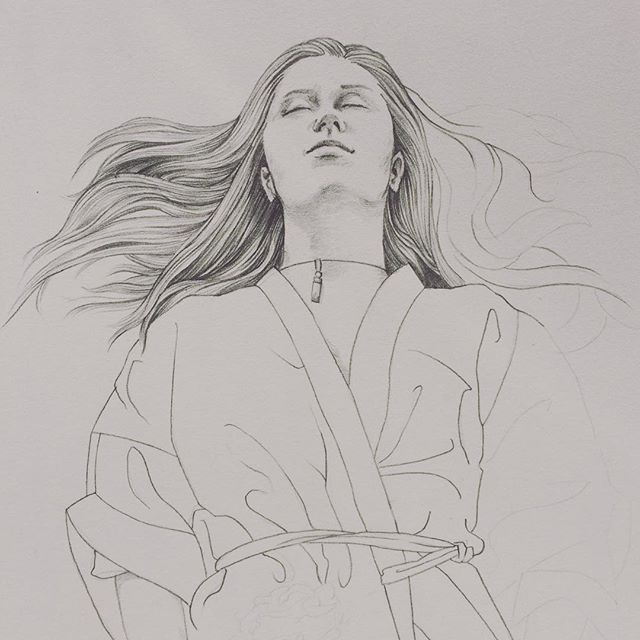 An oldie but a goodie, I should revisit this one sometime... up for doing a sitting @teaandbros 😏 . . . . . #drawing #graphite #wip #portrait #artist