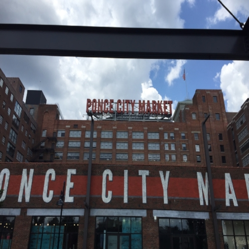 Main entry to Ponce City Market