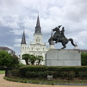 Plaza dArmas  from when New Orleans was the capital of the Spanish Province of Lui. AKA Jackson Square,