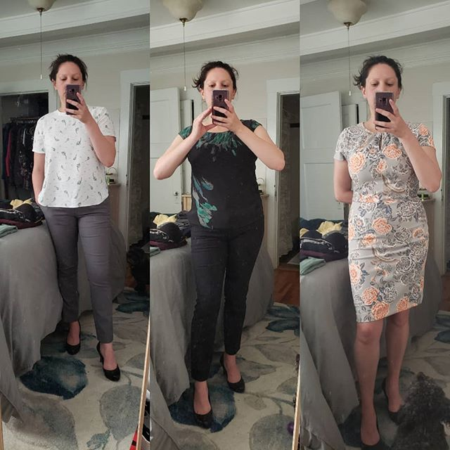 Heading out for a big meeting in a few weeks! What should I wear?  #noleggingstoday #highheels #workworkwork