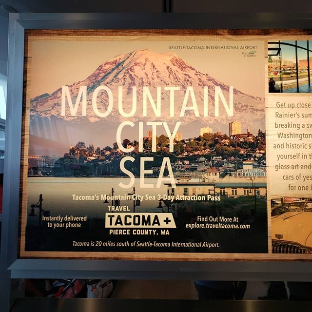 Tacoma is the next big tourist destination!  #tacomaproud #myhometown #livelikethemountainisout