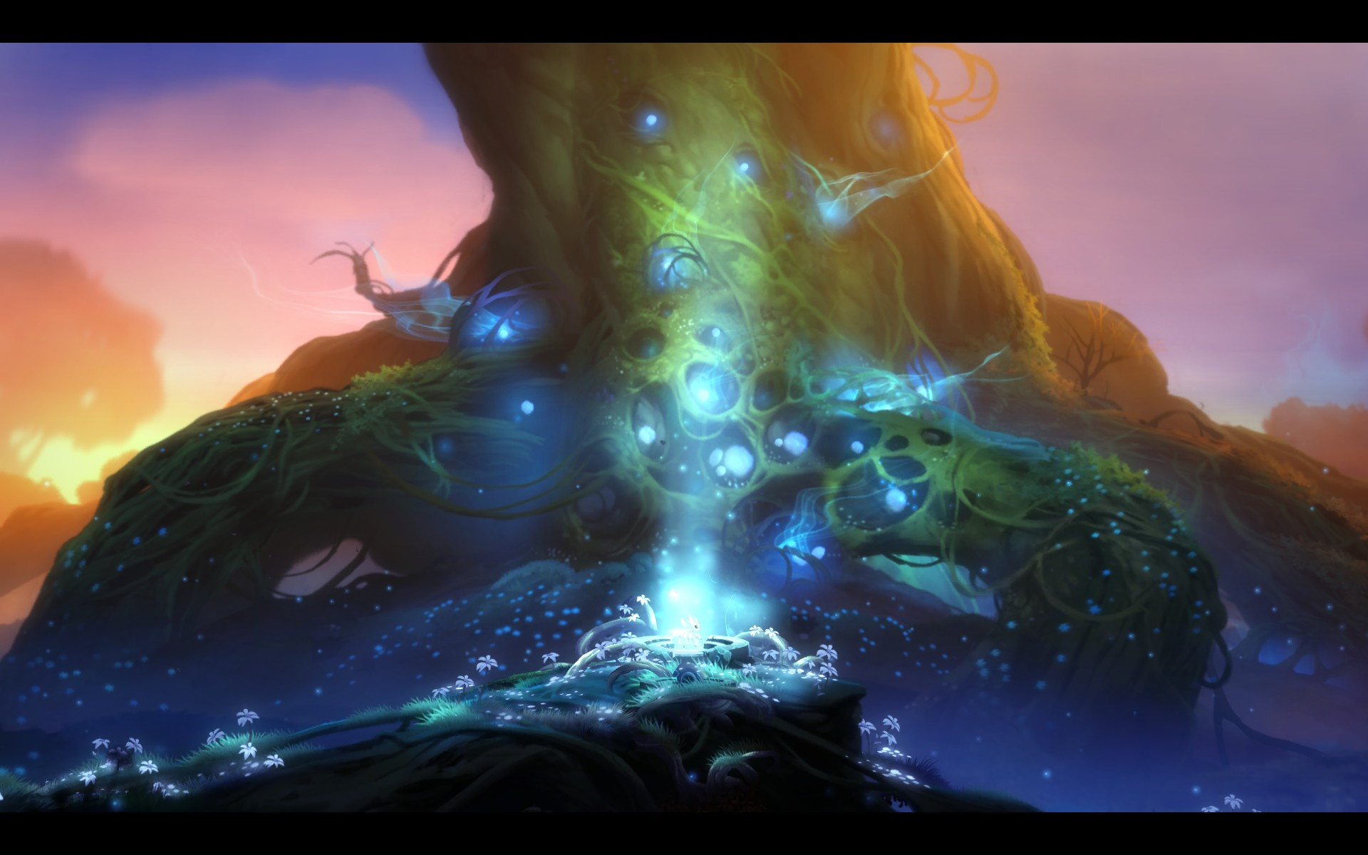I'm not sure what a Blind Forest is, but it looks spectacular.