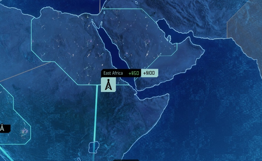Bahrain is apparently in East Africa