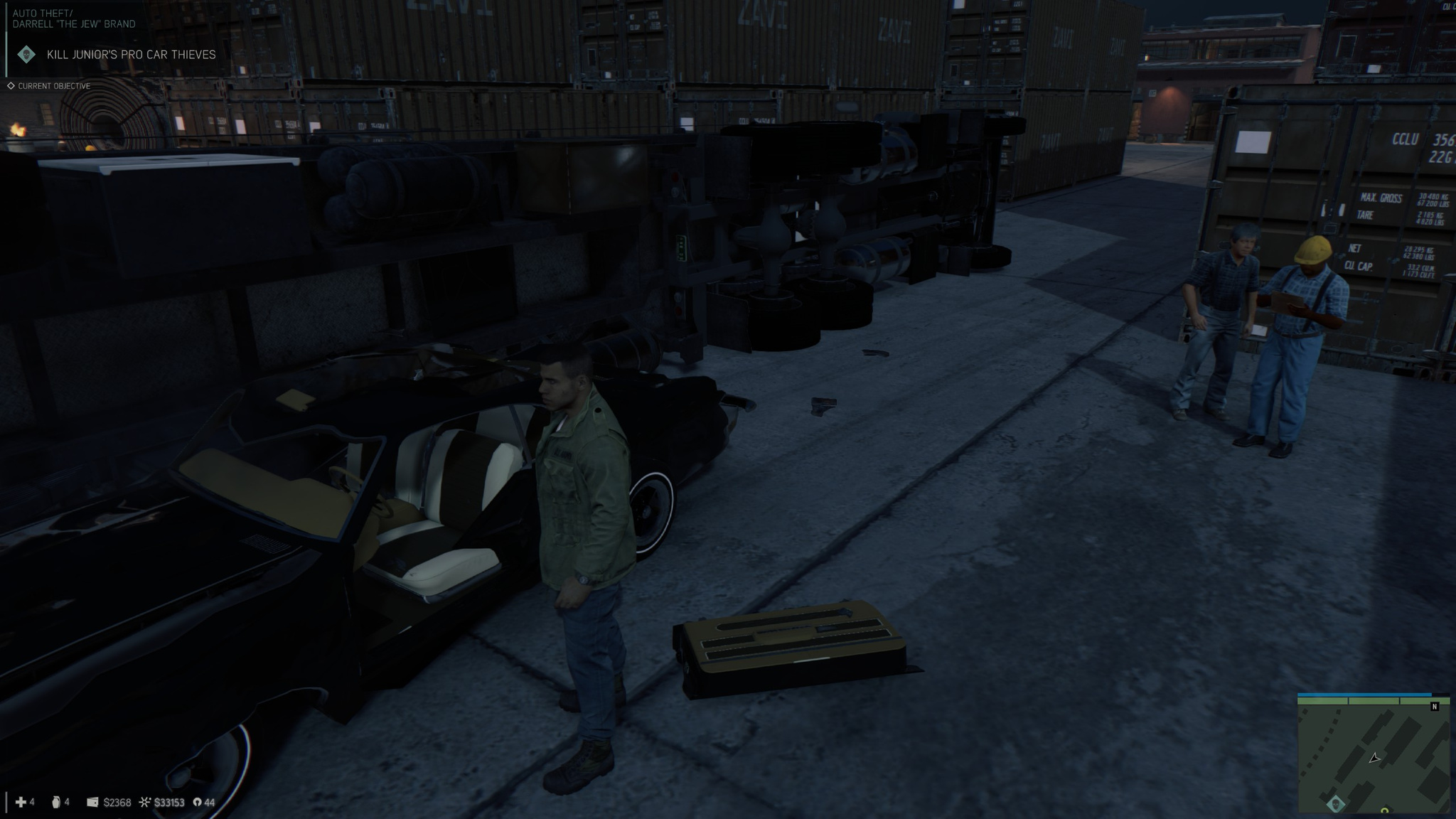 The truck LITERALLY spawned on top of my car, causing it to explode.