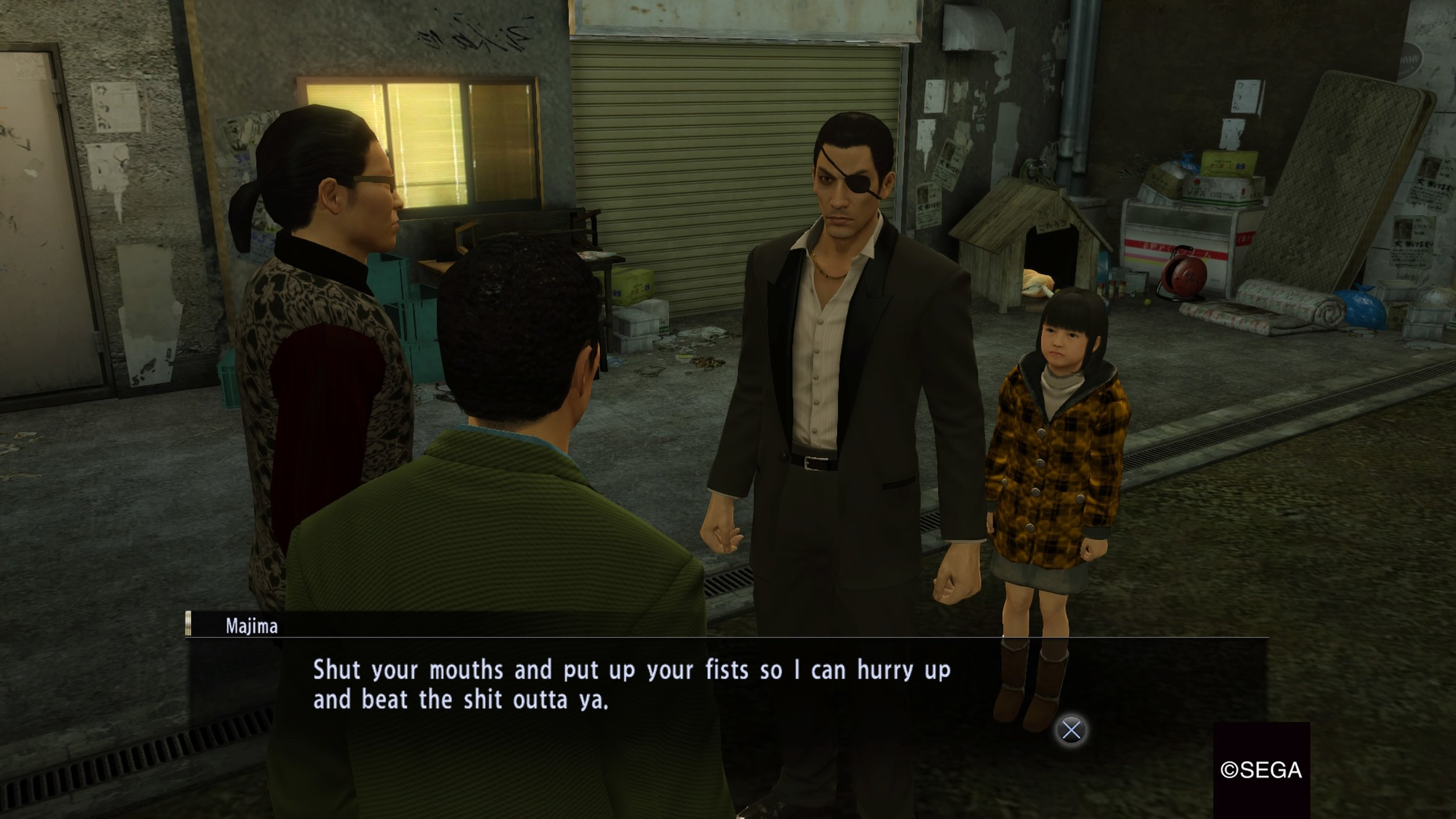 Kiryu is a dope protagonist but I think Majima is my favorite so far.