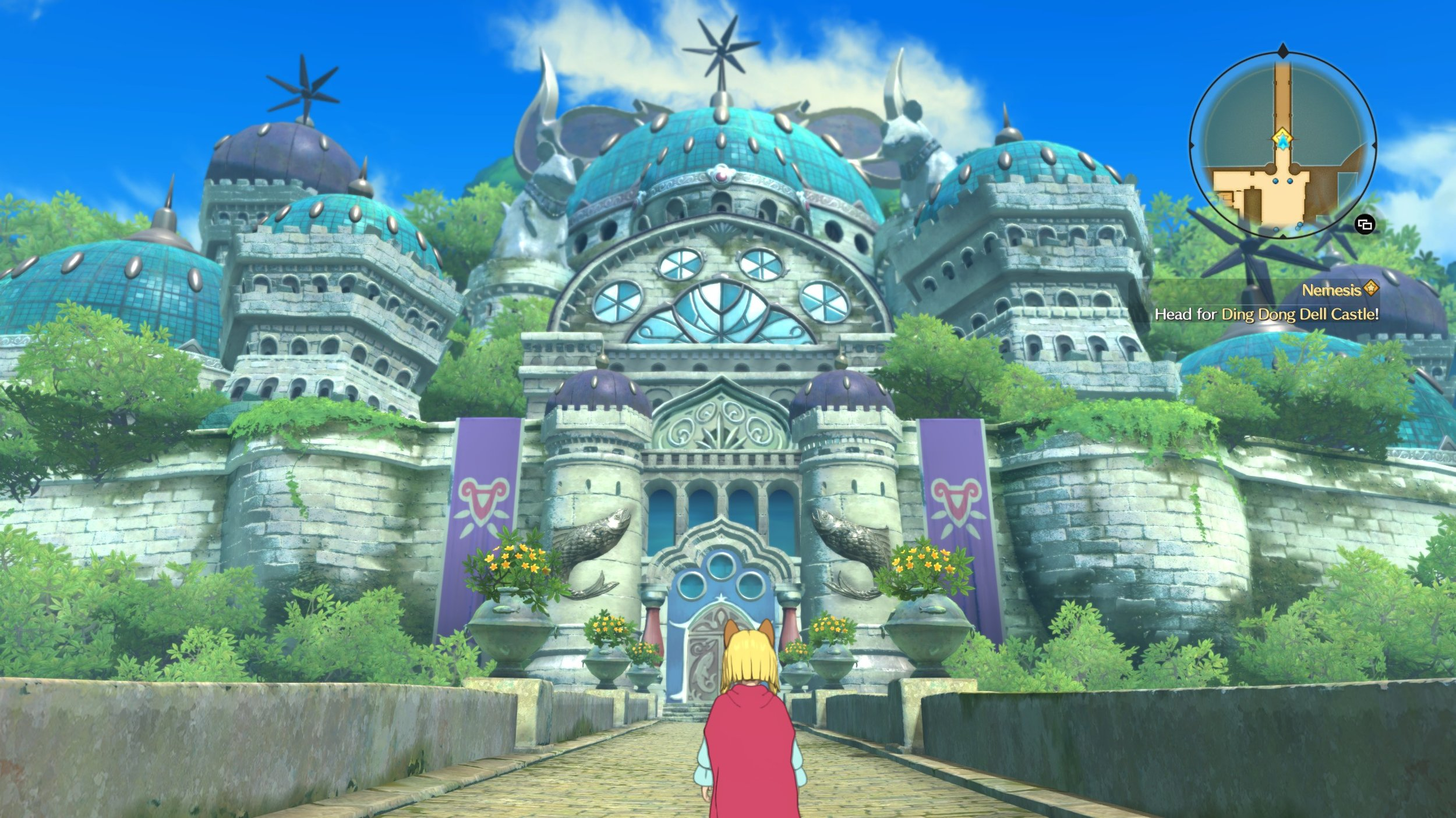 The world design is very good, I love the Ghibli inspired fantasy aesthetic.