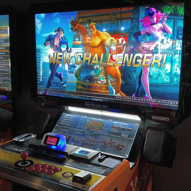 SFV updated with the character updates @round1usa in Tukwila.  #streetfighter #sfv #arcade
