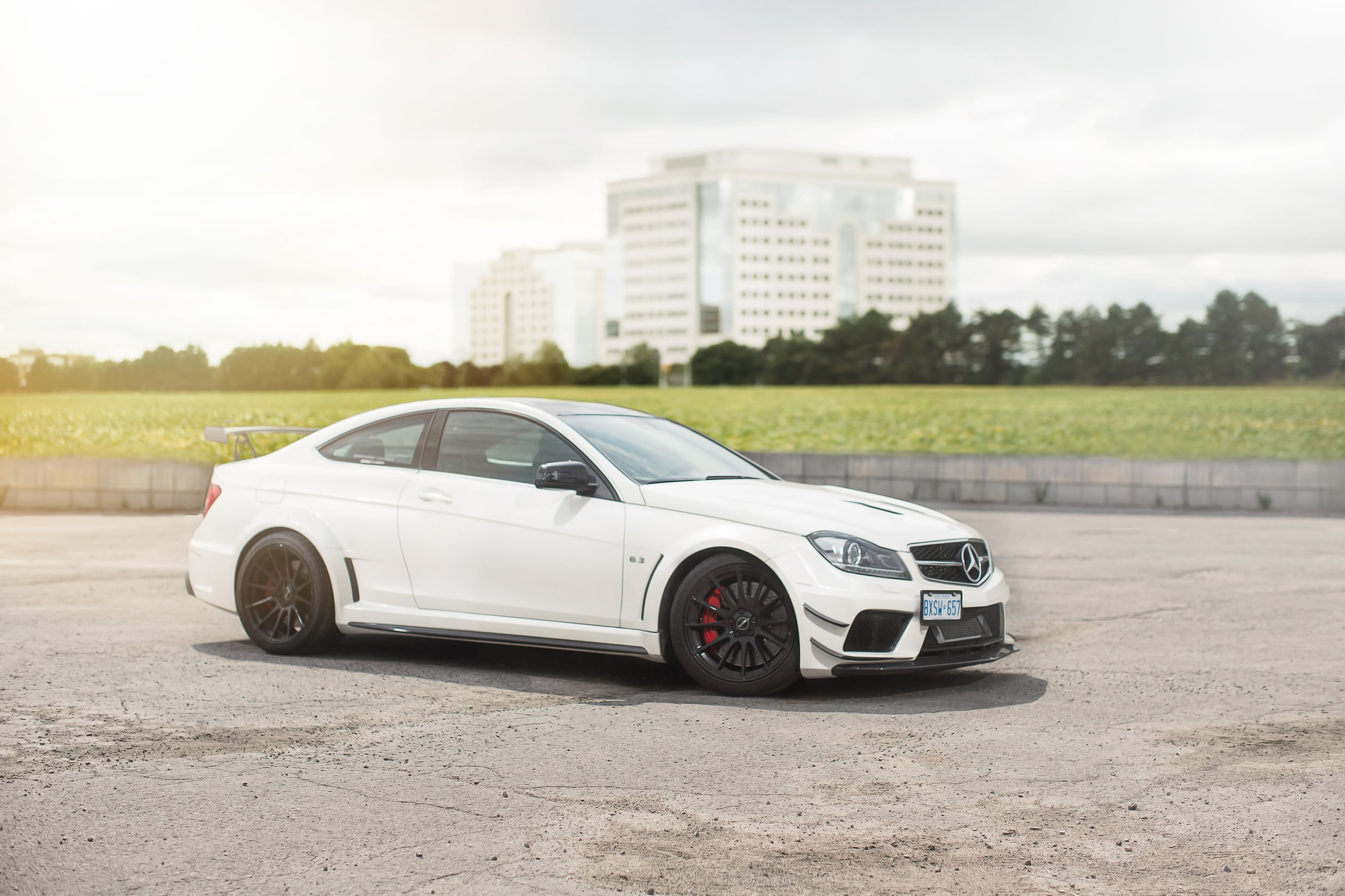 Mercedes-Benz C63 Black Edition for Eurocharge