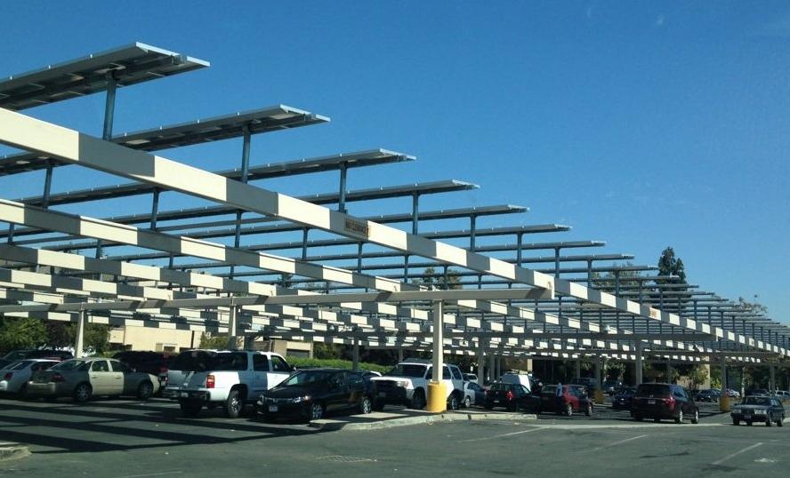 Solar Parking Structure, Fremont, CA