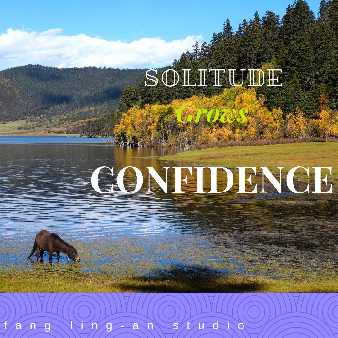 Solitude grows Confidence