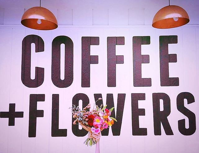 Monday's are better with coffee...& flowers ☕️🌸