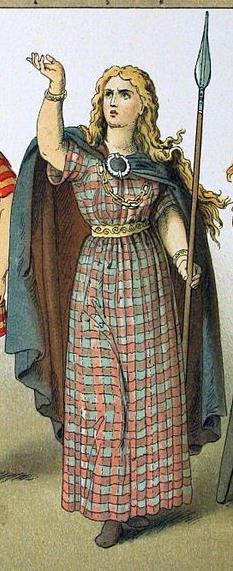 A Celtic woman