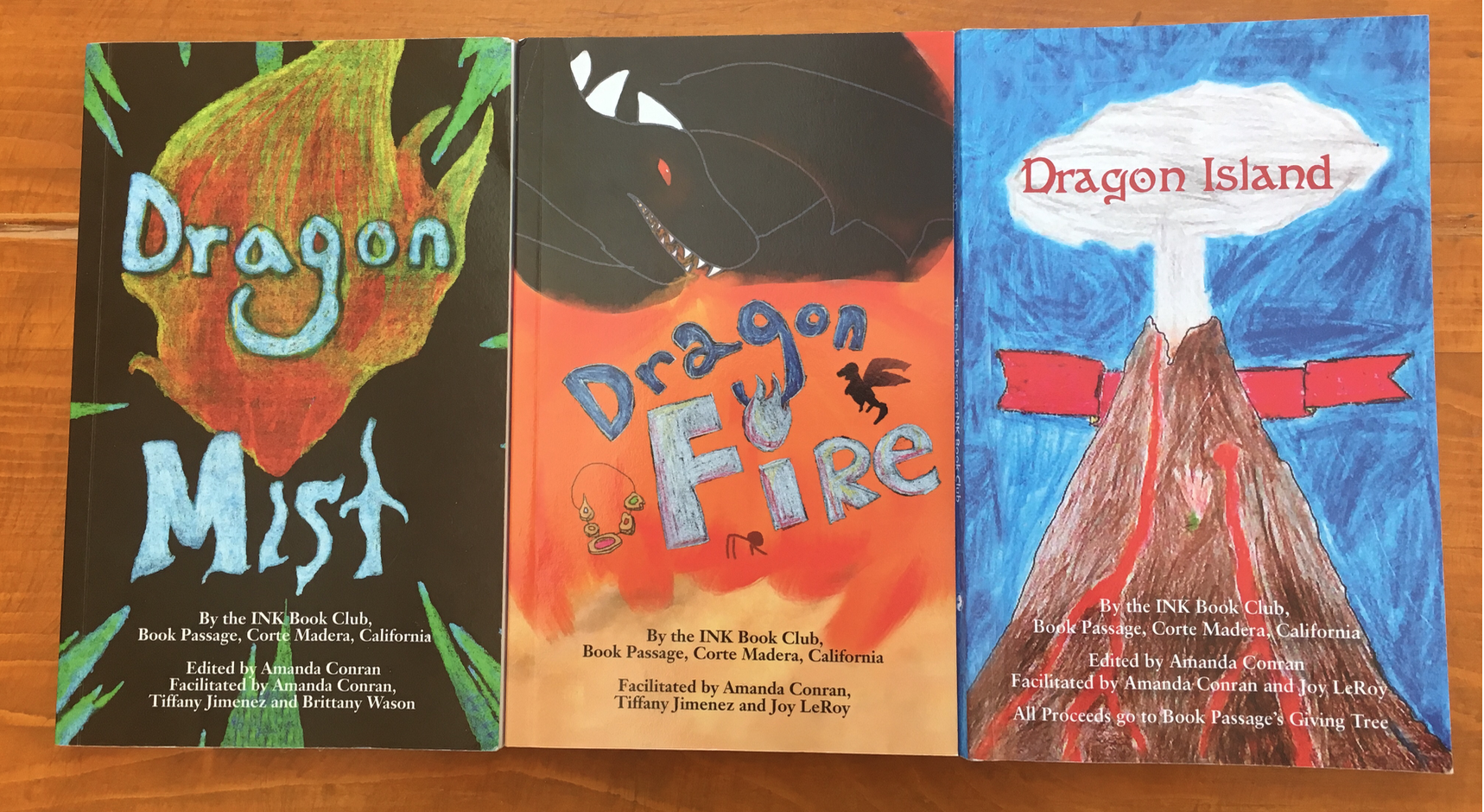 The Dragon Mist  Trilogy by INK