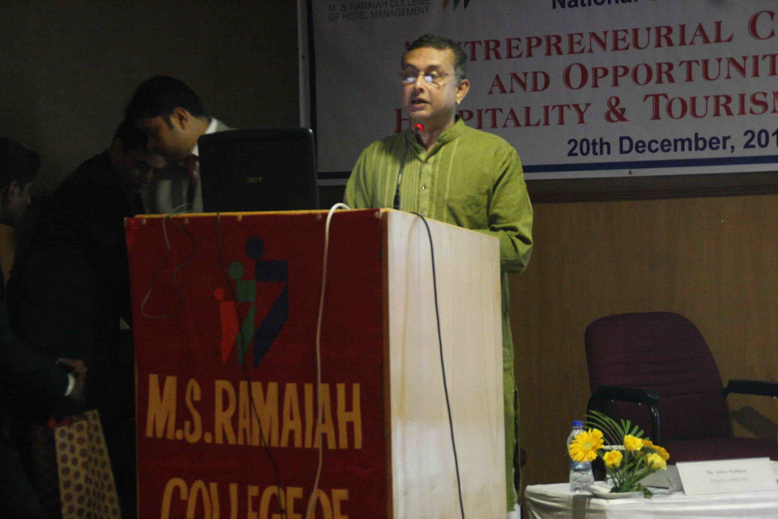 national tourism conference at ramaya college, bangalore, 2014