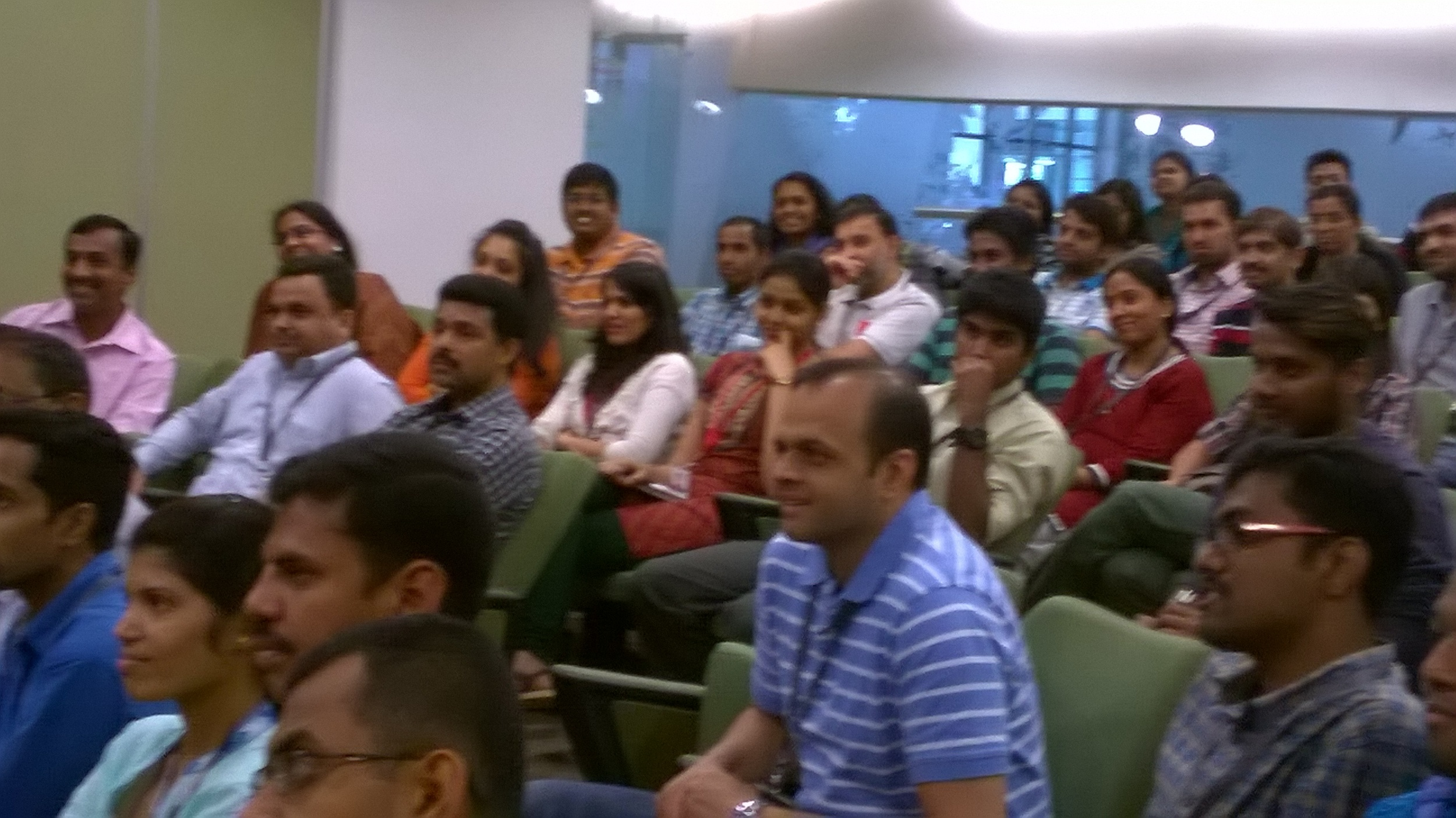 climate change talk on world earth day at mind tree, bangalore, 2015