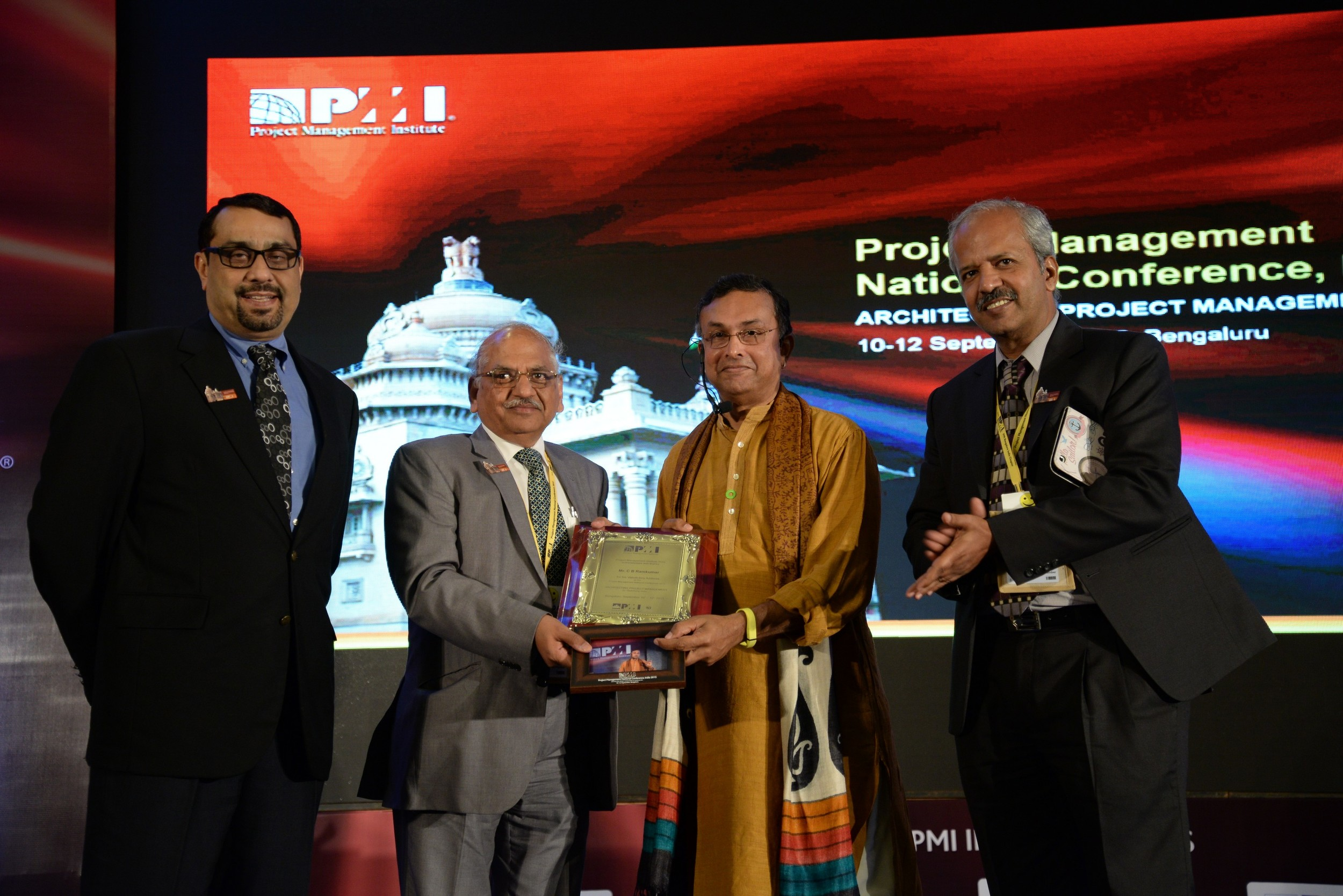 Valedictory address at the national conference of the Progect Management Institute, Bangalore 2015