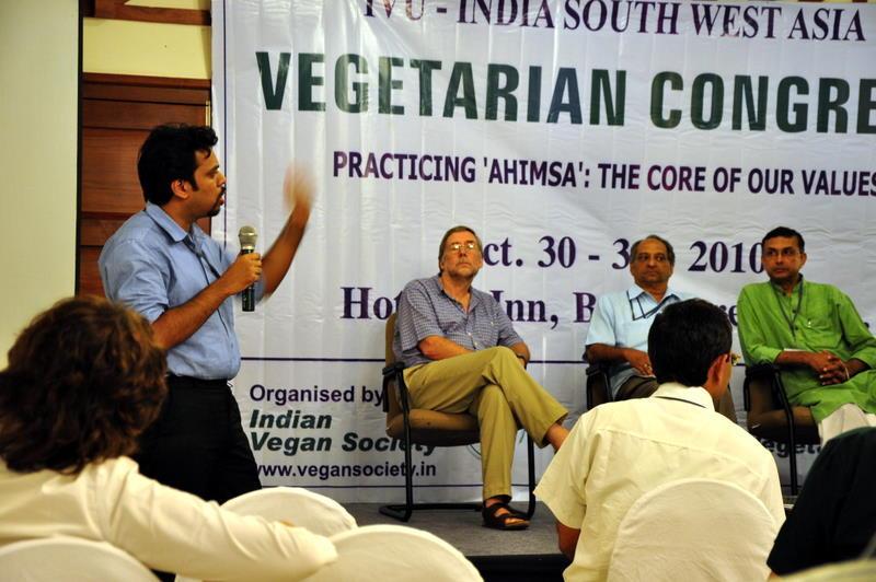 Vegetarian Congress, Bangalore, 2010