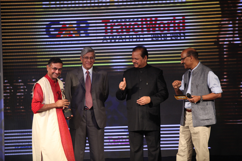Receiving the award fro Sustainable Tourism from Mr. Subodh Kant, Minister of Tourism, Government of India, New Delhi, 2011