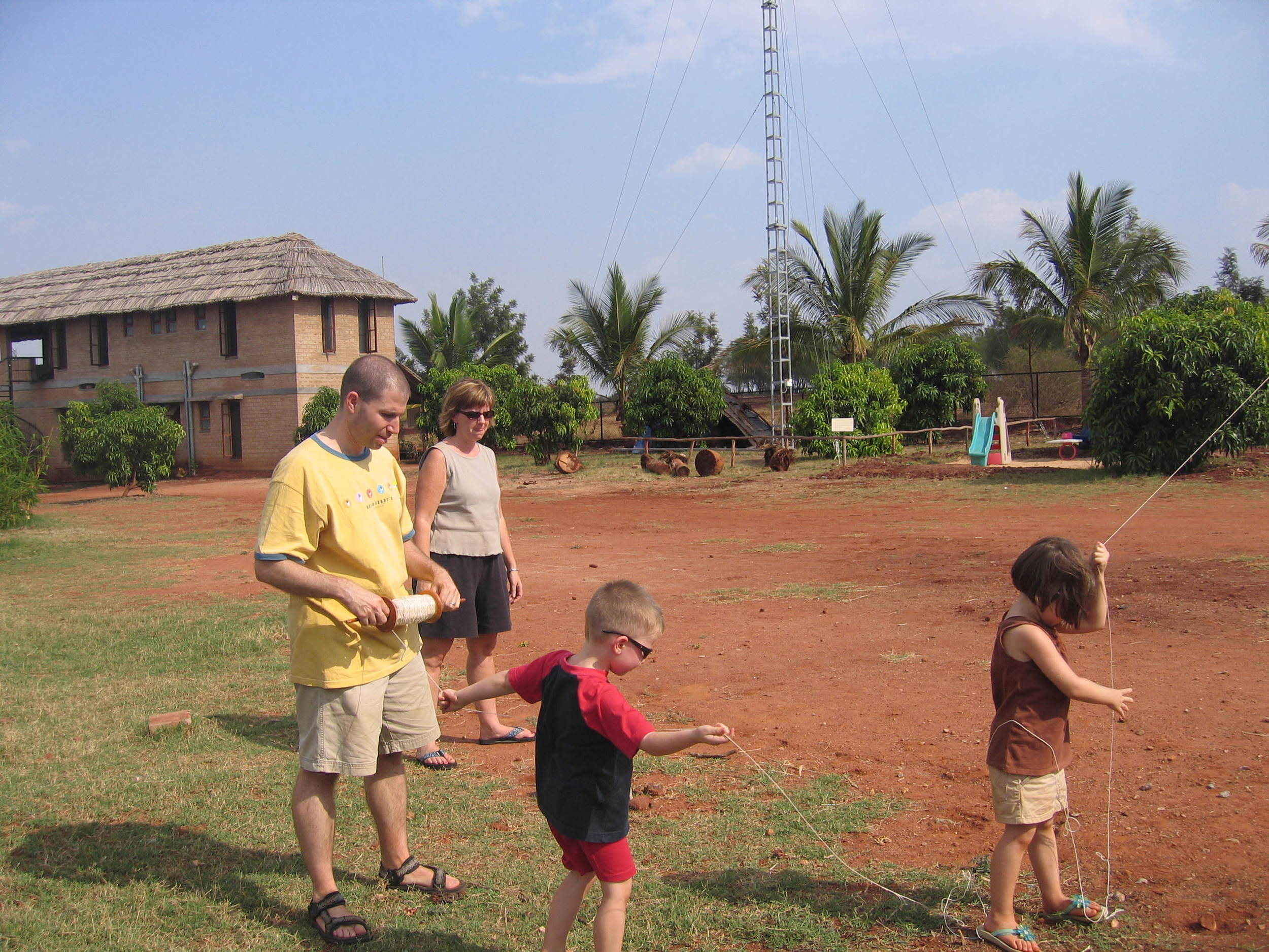 Ian & Family @ Our Native Village 1.jpg