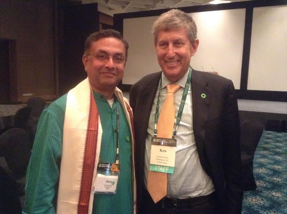 With Ken Berlin, President, Climate Reality Ledership.