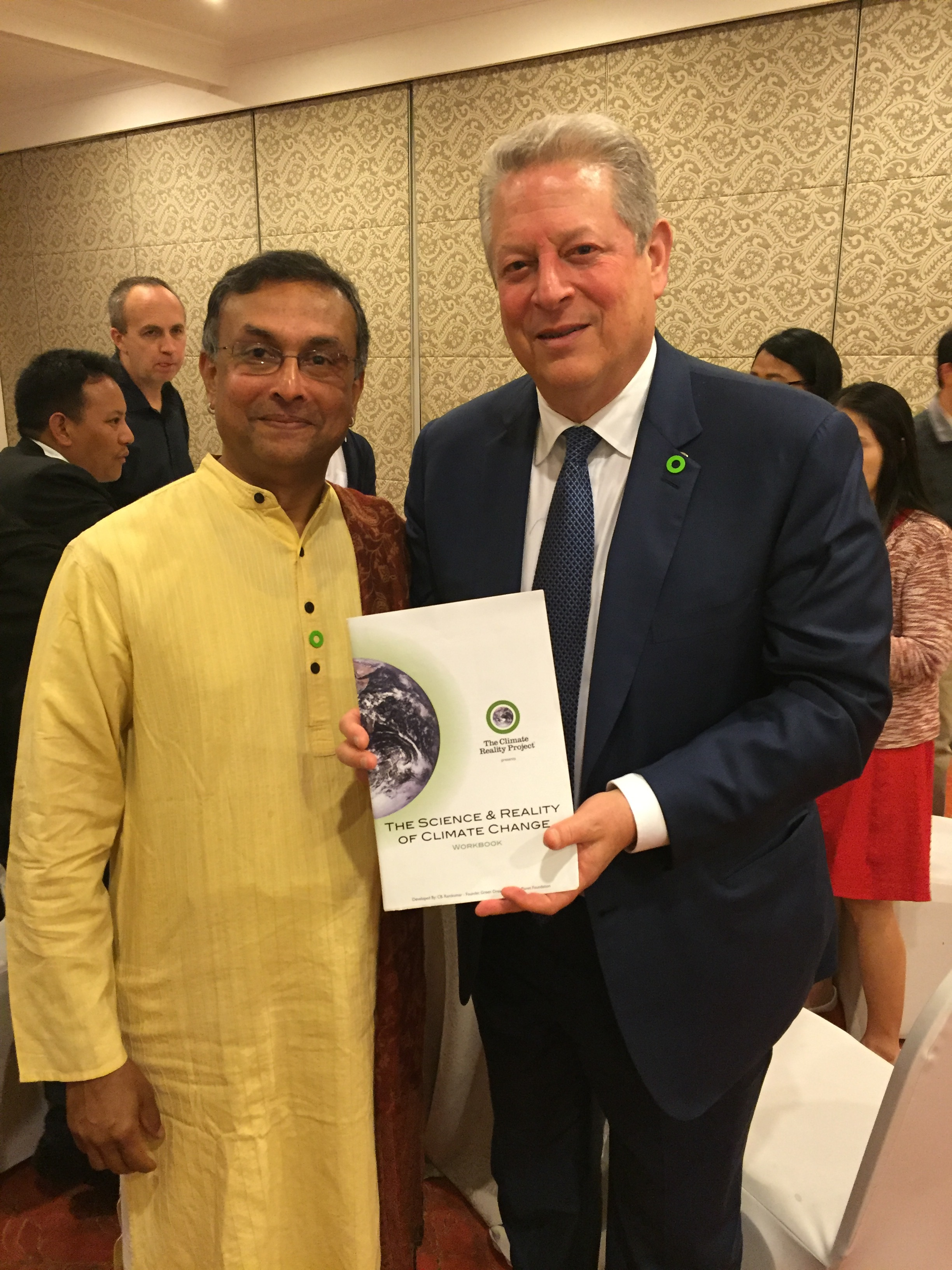 With Al Gore