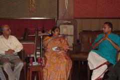With Mrs. Latha Krishna Rao, Tourism Secretary.
